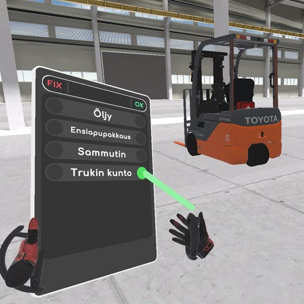 Forklift commissioning inspection